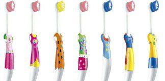 escovas infantis