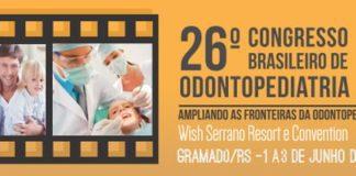 26º Congresso Brasileiro de Odontopediatria